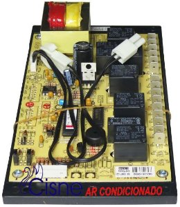 Placa Eletrônica Carrier Modernitá Piso Teto 24.000Btus 421LQA024515KC