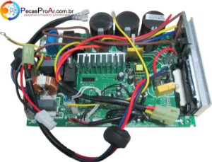 Placa Eletrônica Midea Eco Inverter Split Hi Wall 22.000Btu/h MSC22CRN1
