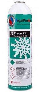 Gás Refrigerante Freon Dupont HCFC R22 1KG