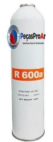 Gás refrigerante Vix R600a 420Gr