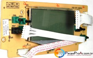 Placa Display Komeco Multiclimatizador KC10QCG1