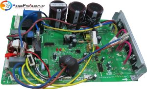 Placa Eletrônica da Condensadora Carrier X-Power Split Hi Wall 9.000Btu/h 38LVQB009515MC