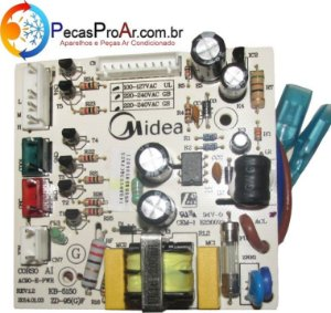 Placa Eletrônica Climatizador Midea SCAFRB1 220V