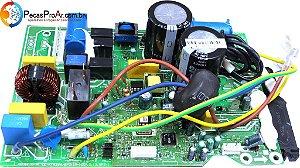 Placa Eletrônica da Condensadora Inverter Midea Vita Split Hi Wall 12.000Btu/h 38MKQA12M5