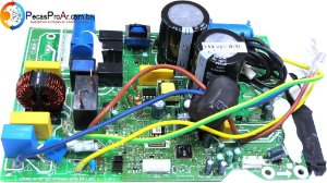 Placa Eletrônica da Condensadora Inverter Midea Vita Split Hi Wall 9.000Btu/h 38MKQA09M5