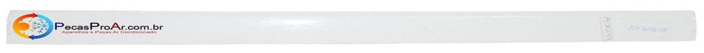 Direcionador De Ar Horizontal Inferior Midea Piso Teto MPE60CRV3