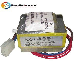 Transformador Da Evaporadora Carrier Piso Teto 42XQB48515LC