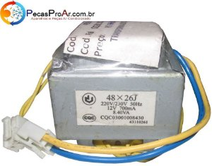 Transformador Da Evaporadora Carrier Diamond 42PFQA012515LC
