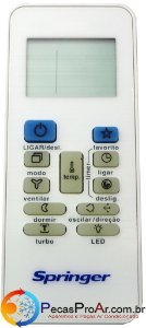 Controle Remoto Springer Way 42RNQB22S5