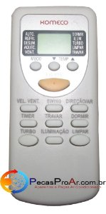 Controle Remoto Komeco Ambient ABS09QCEG1