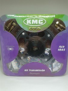 Kit Relação Titan Fan 150 Com Retentor Completo Original Kmc