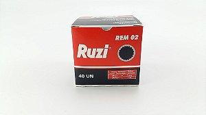 REMENDO FRIO PRETO R02 50 MM C/ 40 - RUZI