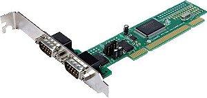 2S-PCI – 2 SAIDAS SERIAIS