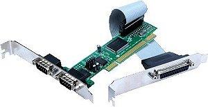 2SP-PCI – 2 SAÍDAS SERIAIS E 1 PARALELA