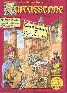 Comerciantes e Construtores - Expansão de Carcassonne - Em Português!