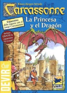 A Princesa e o Dragão - Expansão de Carcassonne - Em Português!