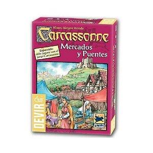 Mercados e Pontes - Expansão de Carcassonne - Em Português!