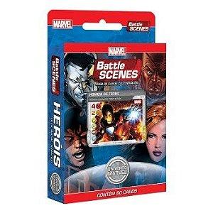 Deck Heróis - Battle Scenes - Universo Marvel - Jogo Nacional!