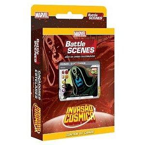 Deck Caçadores Estrelares - Invasão Cósmica - Battle Scenes - Jogo Nacional!