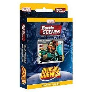 Deck Guardiões da Galáxia - Invasão Cósmica - Battle Scenes - Jogo Nacional!