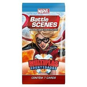 Booster Miss Marvel - Múltiplas Identidades - Battle Scenes - Jogo Nacional!