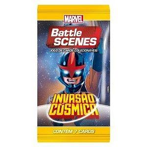 Booster Nova - Invasão Cósmica - Battle Scenes - Jogo Nacional!
