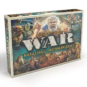 War Batalhas Mitológicas - O Jogo da Estratégia