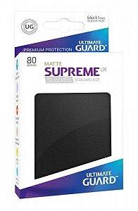 Sleeves Ultimate Guard - Supreme Standard Matte Black c/80