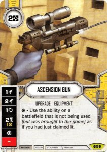 Pistola de Ascensão - Ascension Gun