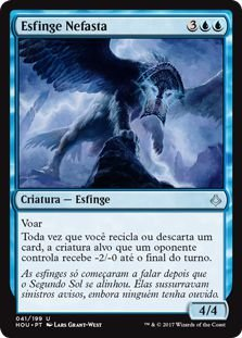 HOU 041 - Esfinge Nefasta (Ominous Sphinx)