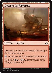 HOU 170 - Deserto da Fervorosa (Desert of the Fervent)