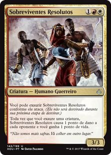 HOU 142 - Sobreviventes Resolutos (Resolute Survivors)