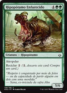 HOU 128 - Hipopótamo Enfurecido (Rampaging Hippo)