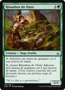 HOU 124 - Ritualista do Oásis (Oasis Ritualist)