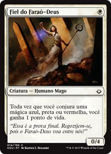 HOU 014 - Fiel do Faraó-Deus (God-Pharaoh's Faithful) FOIL