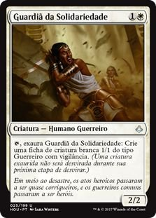 HOU 025 - Guardiã da Solidariedade (Steward of Solidarity) FOIL
