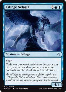 HOU 041 - Esfinge Nefasta (Ominous Sphinx) FOIL