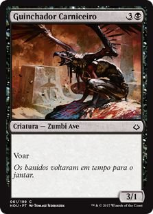 HOU 061 - Guinchador Carniceiro (Carrion Screecher) FOIL