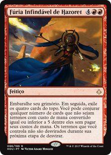 HOU 096 - Fúria Infindável de Hazoret (Hazoret's Undying Fury) FOIL