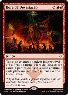 HOU 097 - Hora da Devastação (Hour of Devastation) FOIL