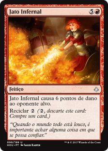 HOU 099 - Jato Infernal (Inferno Jet) FOIL
