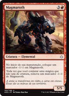 HOU 102 - Magmaroth (Magmaroth) FOIL