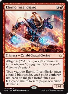 HOU 109 - Eterno Incendiário (Wildfire Eternal) foil