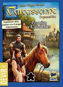 Pousadas e Catedrais 2ª ED - Expansão de Carcassonne (PRÉ-VENDA)