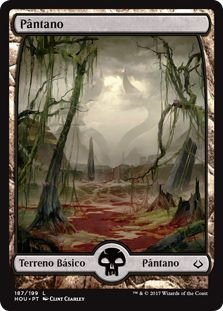 HOU 187 - Pântano (Swamp) FULL ART