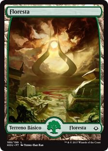 HOU 189 - Floresta (Forest) FULL ART
