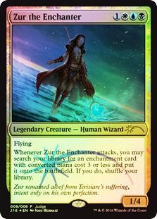 J16 008 - Zur the Enchanter JUDGE PROMO