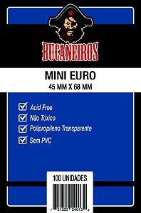 Sleeves Bucaneiros - Mini Euro 45x68mm c/100
