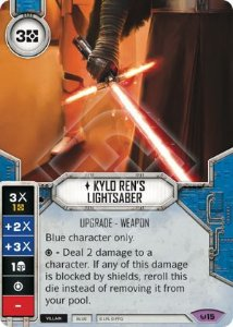 Sabre de Luz do Kylo Ren - Kylo Ren's Lightsaber