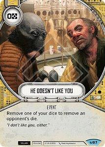Ele não gosta de você - He Doesn't Like You